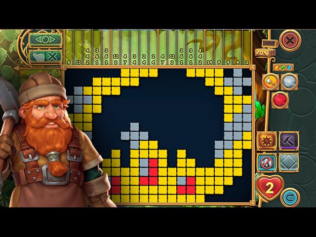 Legendary Mosaics 3: Eagle Owl Saves the World - Screenshot