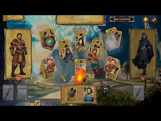 Legends of Solitaire: Diamond Relic - Screenshot 1