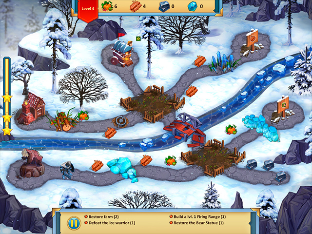 Lost Artifacts: Frozen Queen Collector's Edition screen1
