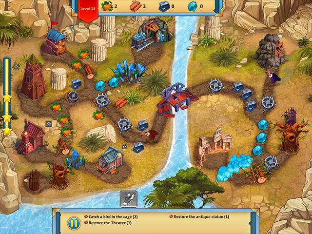 Lost Artifacts: Frozen Queen Collector's Edition screen2