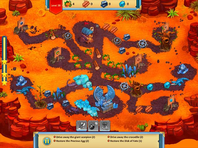 Lost Artifacts: Frozen Queen - Screenshot