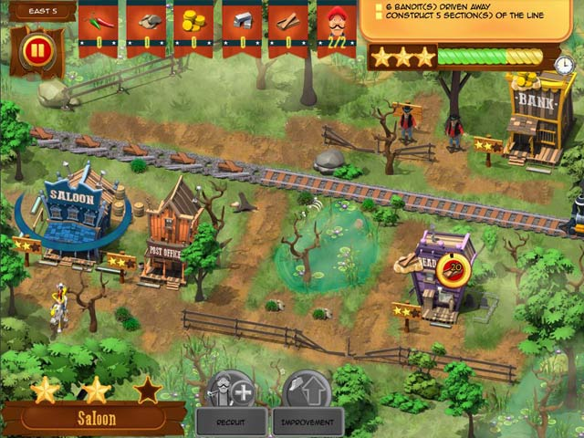 Lucky luke transcontinental railroad ipad iphone for Big fish game manager