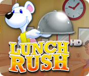 time management games software kids games casual games  Lunch Rush HD