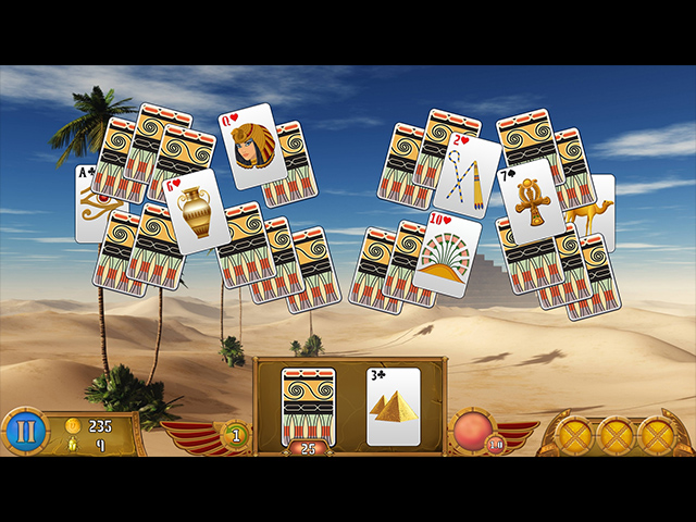 Luxor Solitaire Screen1