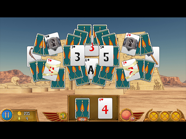 Luxor Solitaire Screen2