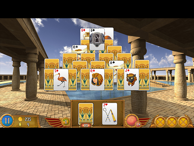 Luxor Solitaire Screen3
