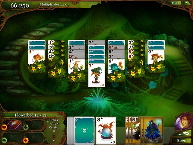 Magic cards solitaire ipad iphone android mac pc for Big fish solitaire games