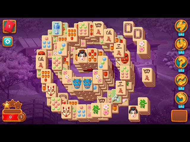 Mahjong Fest: Sakura Garden screen2