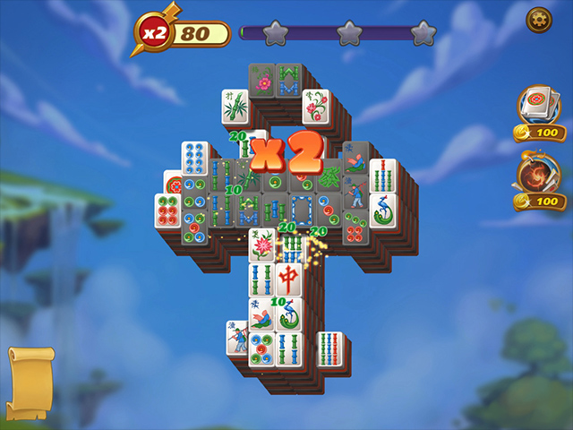 Mahjong Magic Islands 2 - Screenshot