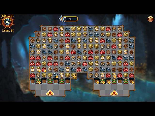 Match Three Pirates! II - Screenshot