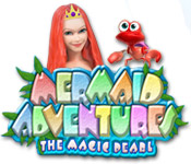 match 3 casual games  Mermaid Adventures: The Magic Pearl