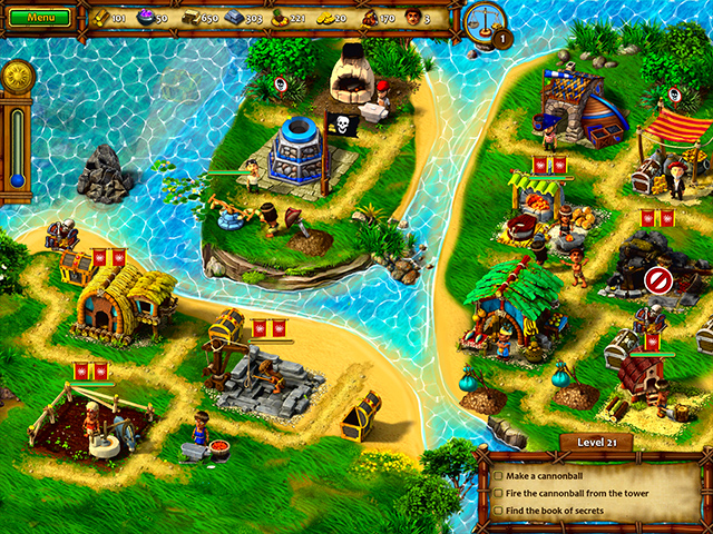Moai VII: Mystery Coast - Screenshot