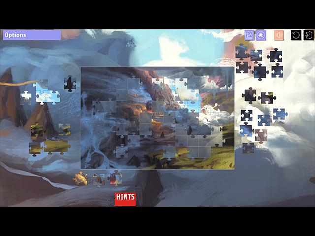 My Jigsaw Adventures: A Lost Story - Screenshot