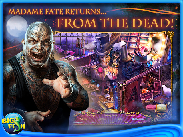 Screenshot for Mystery Case Files®: Fate's Carnival Collector's Edition