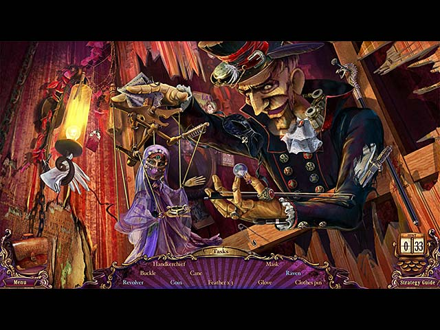 Video for Mystery Case Files®: Fate's Carnival Collector's Edition