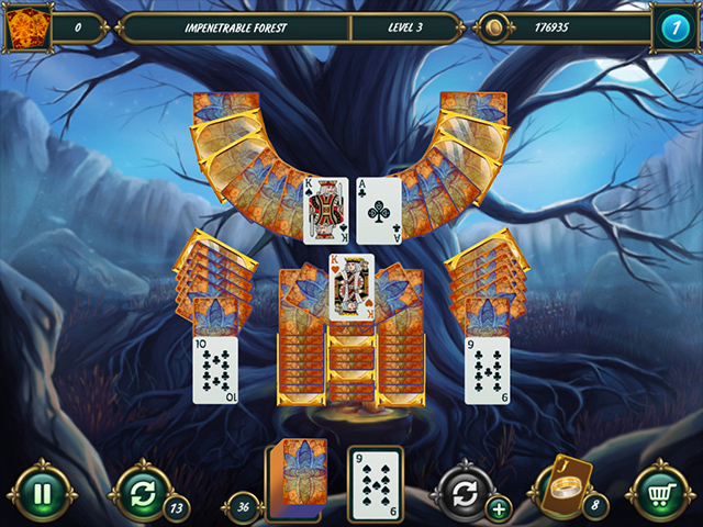 Mystery Solitaire: Grimm's Tales 3 - Screenshot