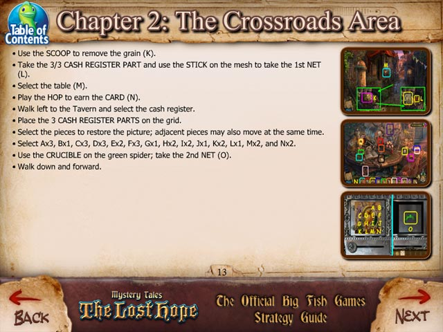 Mystery tales the lost hope strategy guide ipad iphone for Big fish casino promo codes
