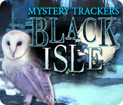 software logic puzzles hidden object mystery software casual games  Mystery Trackers: Black Isle