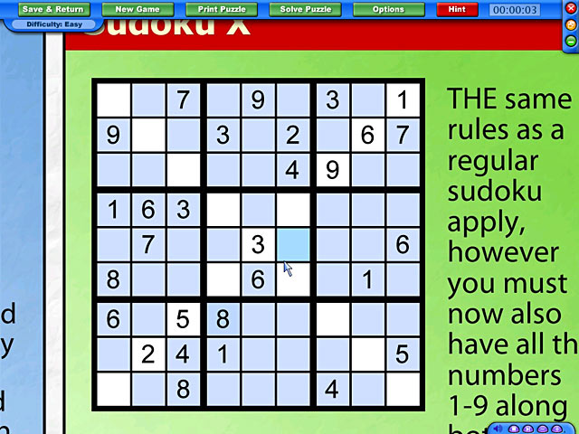 Newspaper puzzle challenge sudoku edition ipad iphone for Fishing net crossword clue