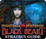 Nightfall Mysteries: Black Heart Strategy Guide