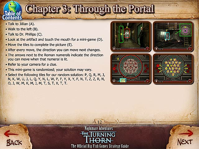 nightmare adventures the turning thorn strategy guide. Black Bedroom Furniture Sets. Home Design Ideas