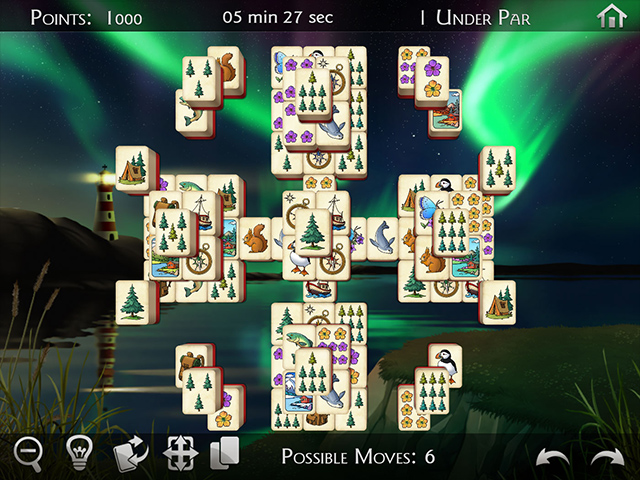 Nordland Mahjongg - Screenshot