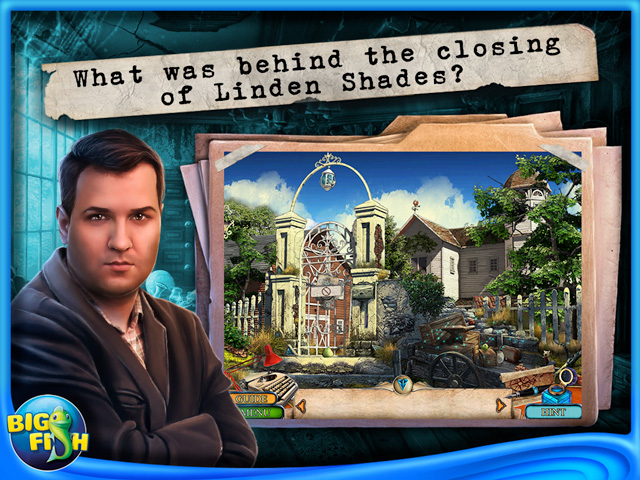 Screenshot for Off the Record: Linden Shades Collector's Edition