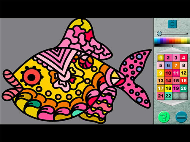 Paint By Numbers 12 - Screenshot