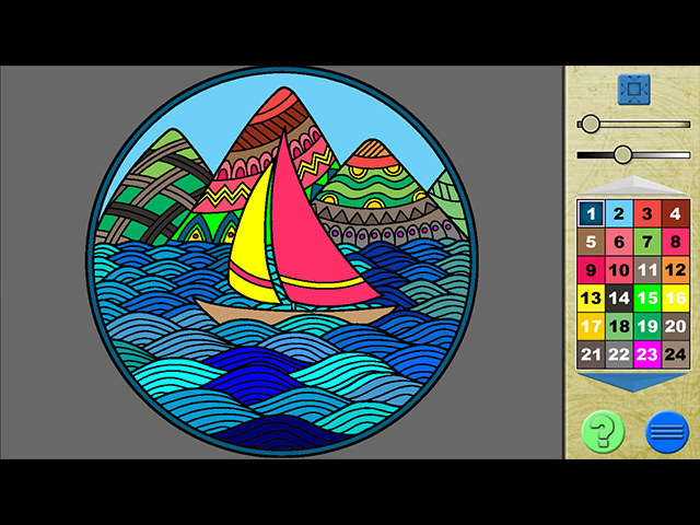 Paint By Numbers 3 - Screenshot