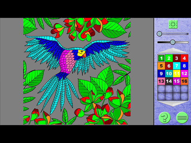 Paint By Numbers 4 - Screenshot