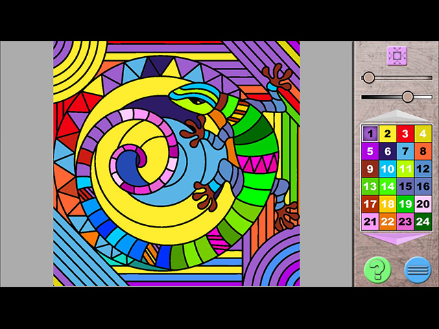 Paint By Numbers - Screenshot