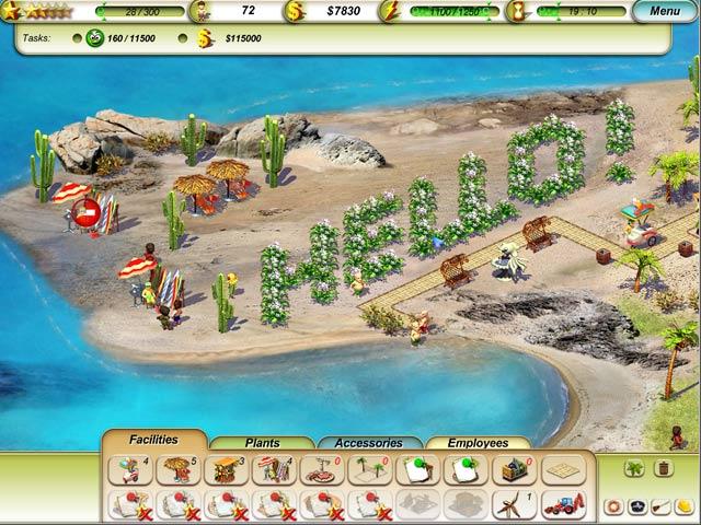 Paradise Beach Game
