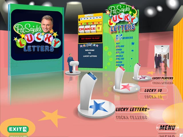 Video for Pat Sajak's Lucky Letters