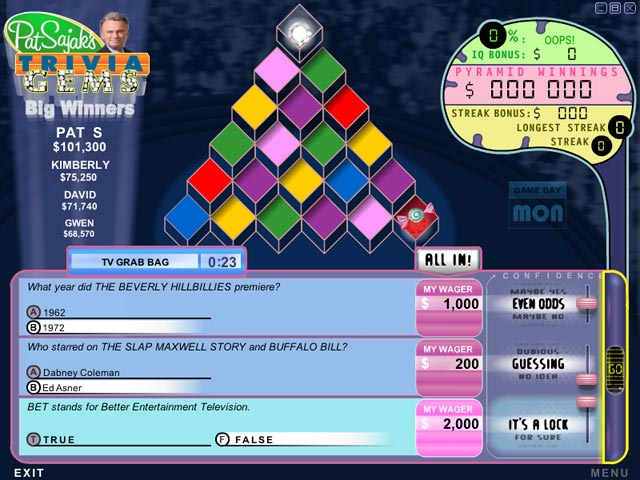 Video for Pat Sajak's Trivia Gems