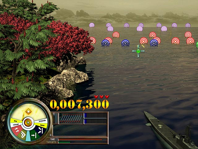 Pearl harbor fire on the water ipad iphone android for Fish arcade game