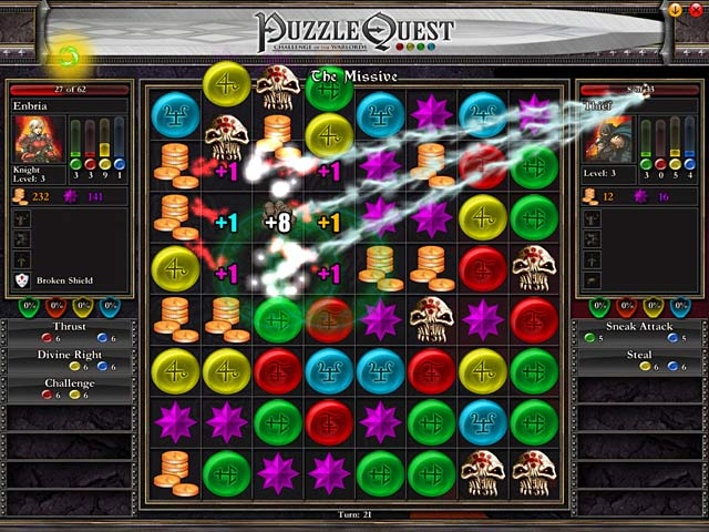 Puzzle quest ipad iphone android mac pc game big fish for Big fish games android