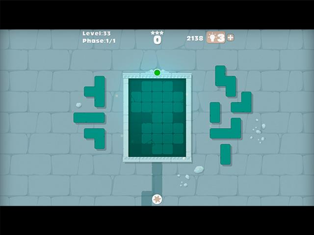 Puzzle Stone Blocks - Screenshot
