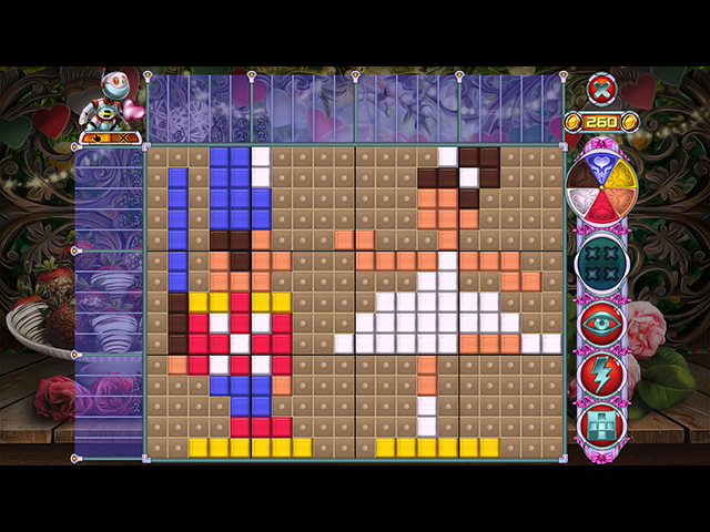 Rainbow Mosaics 11: Helper's Valentine - Screenshot