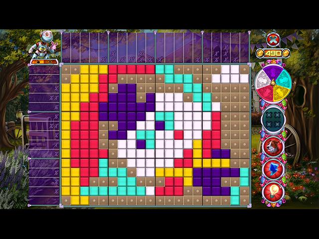 Rainbow Mosaics 12: Easter Helper - Screenshot