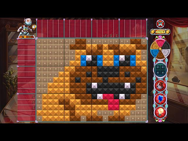 Rainbow Mosaics 13: Detective Helper - Screenshot
