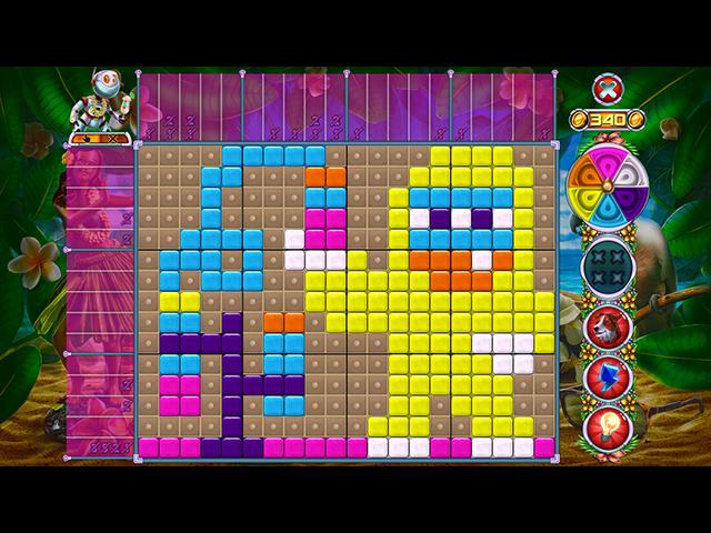 Rainbow Mosaics 14: Hawaiian Vacation - Screenshot
