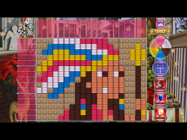 Rainbow Mosaics 16: Helper New Year! - Screenshot