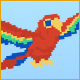 Rainbow Pixel game