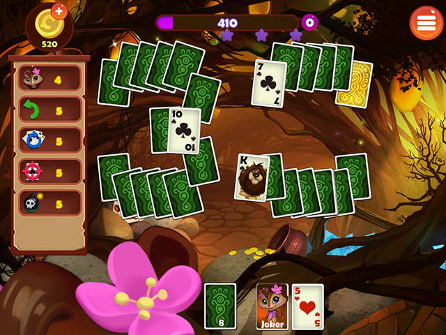 Rainforest Solitaire 2 - Screenshot