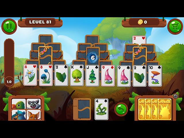 Rescue Friends Solitaire - Screenshot