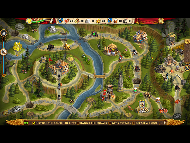 Roads of Rome: Portals Collector's Edition - Screenshot