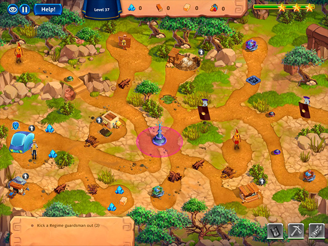 Roads of Time: Odyssey Collector's Edition - Screenshot