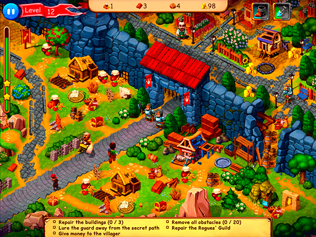 Robin Hood: Country Heroes Collector's Edition - Screenshot