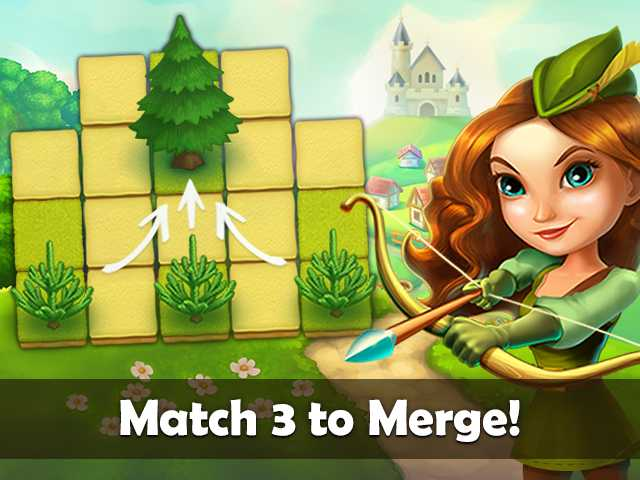Screenshot for Robin Hood Legends: Puzzle Adventure