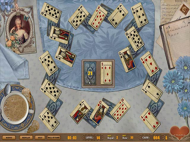 Video for Royal Challenge Solitaire